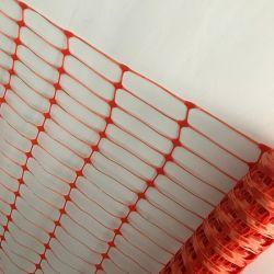 Fabricant de haute résistance clôture temporaire 60GSM Filets à mailles de plastique pour barrière de sécurité routière