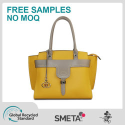OEM와 가진 제조자 Wholesale Fashion Luxury Contrast Color Elegant Women Crossbody Lady Designer PU Shopping Handbag