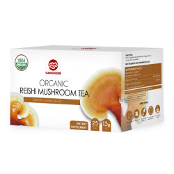 Private Label supplément naturel Organic Reishi Ganoderma Thé de coupe
