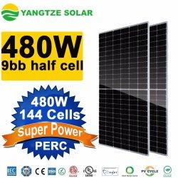 양쯔강 Ja Jinko Trina 태양 전지판 물 증거 9bb 태양 전지 480W 450W 455W 460W 470W 태양 전지판