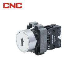 الطبقة 5 المقاومة للماء من السلسلة 16 مم 19 مم، التشغيل الكهربائي عند الضغط من خلال LED مفتاح الزر مع ضوء المؤشر