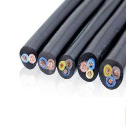 450/750V Yzw Yh Yc Ycw H07rn-F H05rn-Fの低電圧のシリコーンゴムはおおわれた適用範囲が広い銅の電源コードのゴム製溶接電気ワイヤーケーブルを絶縁した