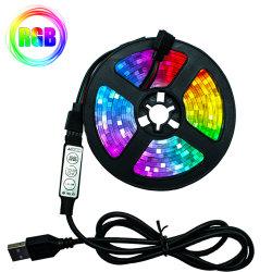 5m de la cinta SMD 2835 DC5V Desk la iluminación de fondo de pantalla plana por cable USB Lámpara LED DE TIRA