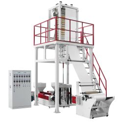 ABA tres capas de la máquina de soplado de película Co-Extrusion