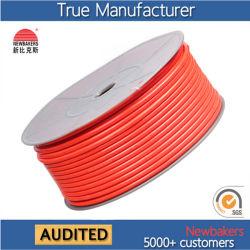 Polia reta de alta pressão TPU Manga de ar trançada / Tubo de ar / tubo de ar 5 * 8 laranja