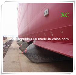 Utiliser un navire de production de caoutchouc naturel Le lancement d'airbag