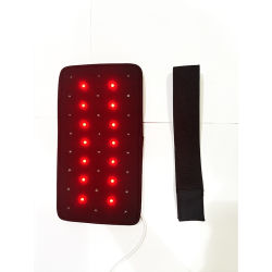 LED vermelho de terapia de luz a cura do corpo elástico a circulação sanguínea melhoria body wrap