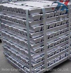 高い純度の純粋な鋳造アルミの合金のインゴットAl 99.7/99.8/99.9の製造所のDirectaの供給
