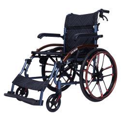 Old People Supplier Direct Rehabilitation Medical Opvouwbare lichtgewicht rolstoel