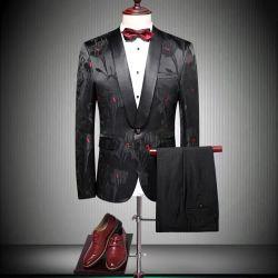 Cultiveer je moraliteit Jacquard Suit Herenjurk