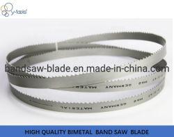 A fábrica fez a melhor qualidade M42 Bimetal Bandsaw Metal, lâminas de serra de fita, lâmina de corte do tubo, Bares