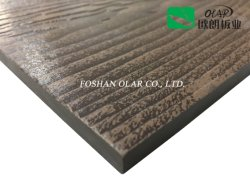 Revestimiento de fachadas el panel de pared - Resistencia al agua de la textura de madera de exterior