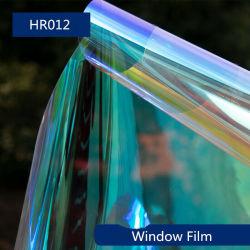 Calidad Como Threem M Camaleón arco iris de la ventana de vidrio dicroico rollos de película de oro y azul, oro y el color rojo