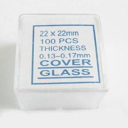 Coperchio per microscopio portatile trasparente da laboratorio in vetro per vendita a caldo