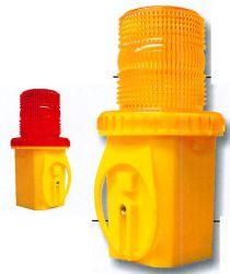 Круглый светодиодный строительство баррикад предупреждение оранжевого цвета желтые сигнальные фары