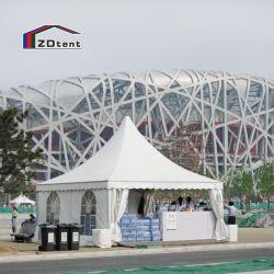 알루미늄 방수 6X6m 파고다 텐트(창문 포함