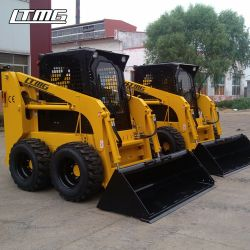 Мини-Ltmg погрузчика с задней разгрузкой 500 кг 700 кг 850 кг 1050кг 1500кг погрузчик с бортовым поворотом для продажи