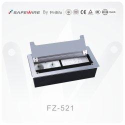 銀製のカラーテーブルの台紙のソケット/電気ソケットアウトレット/モジュラーワイヤー