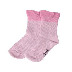Calzini di lavoro a maglia lanuginosi dei reticoli dei bambini increspati cotone delle ragazze