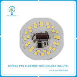 AC Dob Módulo LED sem condutor 10W de potência e 105lm/W