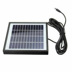 中国の高性能7.4Vバッテリーの充電のためのプラスチックフレームが付いている多結晶性2W 12Vの太陽電池パネルのモジュール
