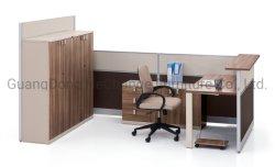 Espace de travail de bureau chinois en bois de Solutions de mobilier de station de travail de partition de l'écran