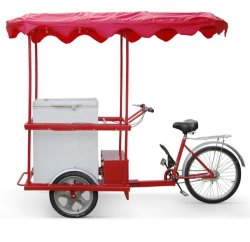 Batteriebetriebenes Eis Fahrrad Cargo Bike für den Verkaufsverkehr