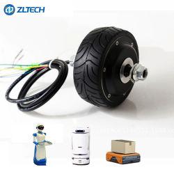 전기 스쿠터 4inch 3n. M 24V 150W DC Agv 차를 위한 무브러시 바퀴 허브 모터