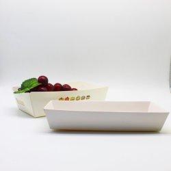 Корабль форму лодки картонная коробка для Fast Food бумага материал чаши