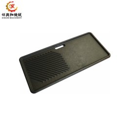 Custom fundição em areia de ferro peças para os grelhadores de churrasco
