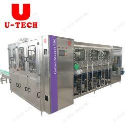 Полная 5 галлон воды Barreled линии заполнения/автоматический 20L Jar питьевой очищенной воды производственной линии