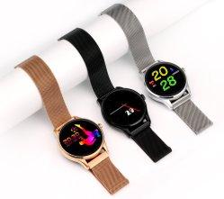 Fermoir aimant Smart montre Bluetooth avec moniteur de fréquence cardiaque K88