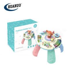 Baby-früh Multifunktionserlernentisch-Spielzeug mit Musik und Licht