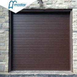 Industrial exterior Garaje automáticas de seguridad de la puerta de Obturador de rodillo de aluminio