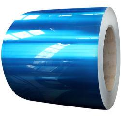 파란 색깔은 알루미늄 코일 1050 1060년을 입혔다