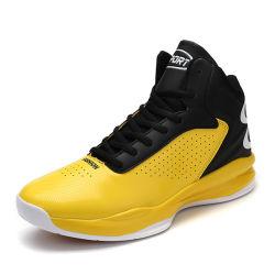 Tênis de basquete Retro profissional, Marca de Basquetebol em pele genuína sapatos provenientes da China, Barato Tênis tênis de basquete