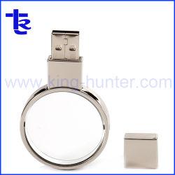 Chiavi di azionamento istantanee a cristallo del USB per il regalo promozionale dell'azienda