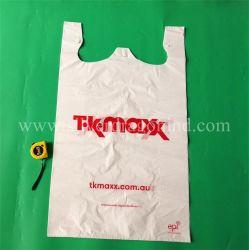 Custom Super Large Size plastic PE Shopping Tassen T-shirt tas