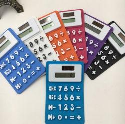 Calculadora de silicona flexible con imán para promoción