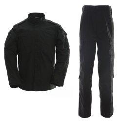 De zwarte Uniformen van de Veiligheid van de Politie van de Wacht Eenvormige