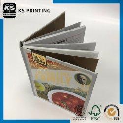 Настраиваемые высококачественный жесткий футляр, 4 цветных продовольственной службы печати адресной книги