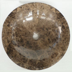 Темно-коричневый Эмперадор ванная комната бассейнов камня мрамора