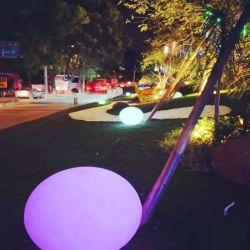 LED de alimentación de pago Piscina Cambio de color de la bola de luz flotantes