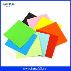 80g/m² papel A4 de construcción de un surtido de papel de color para embarcaciones