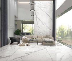 中国の大きいサイズ900X1800mm大理石デザイン光沢のある艶をかけられた磨かれた磁器の陶磁器の床タイル