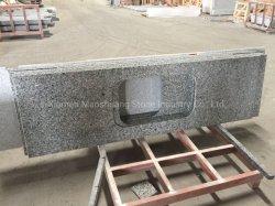 カウンタートップまたは虚栄心の上のための中国の最も安い磨かれた自然な石造りの白鳥の灰色の花こう岩