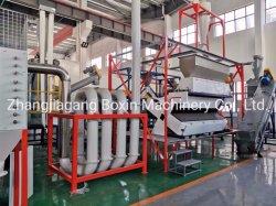 Bouteille de lavage de Cola populaire pour la trituration de l'usine de recyclage des bouteilles de PET en plastique PE PP avec l'étiquette les organes de battage
