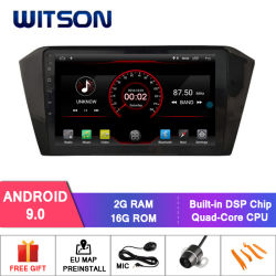Witson Android 9.0 coche reproductor de DVD GPS para el VW Passat B8 2016-2017