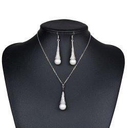 يثبت لؤلؤة بيضاء [جولّري] فضة طبيعيّ نهريّة لؤلؤة مجوهرات بالجملة