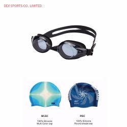 De Levering voor doorverkoop van de fabriek kan de Zwemmende Beschermende brillen die van de Lens aanpassen van de Bijziendheid de Reeks van de Apparatuur zwemmen